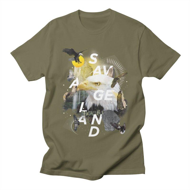 Savage Land Men's T-Shirt by virbia's Artist Shop