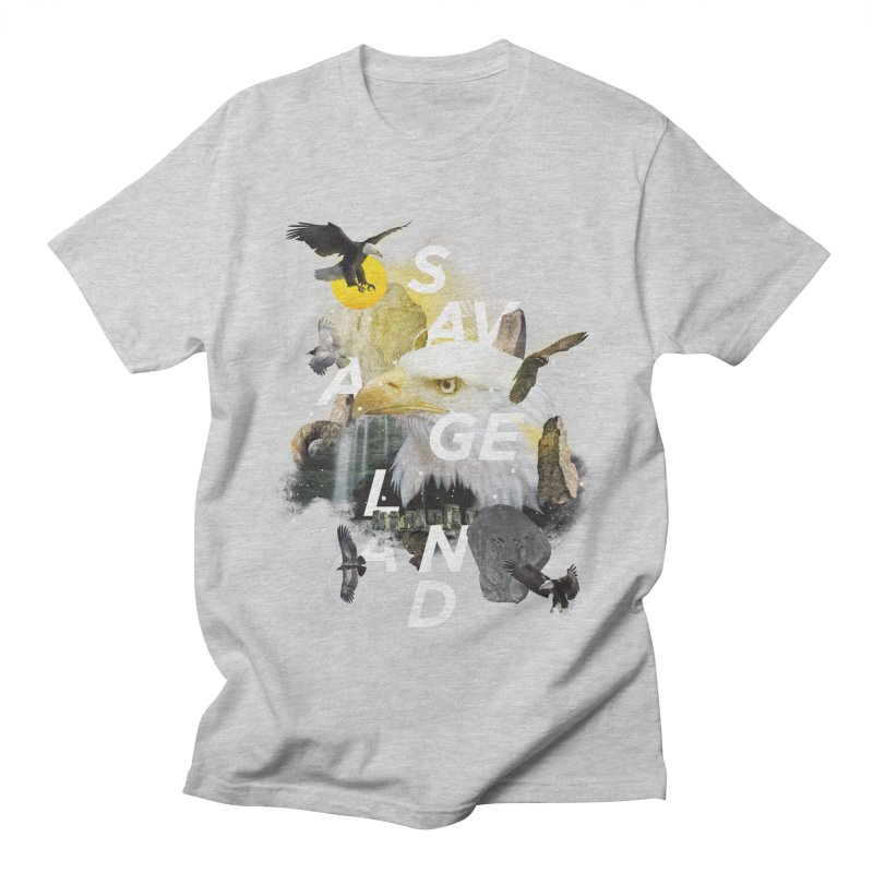 Savage Land Men's T-Shirt by virbia's Artist Shop