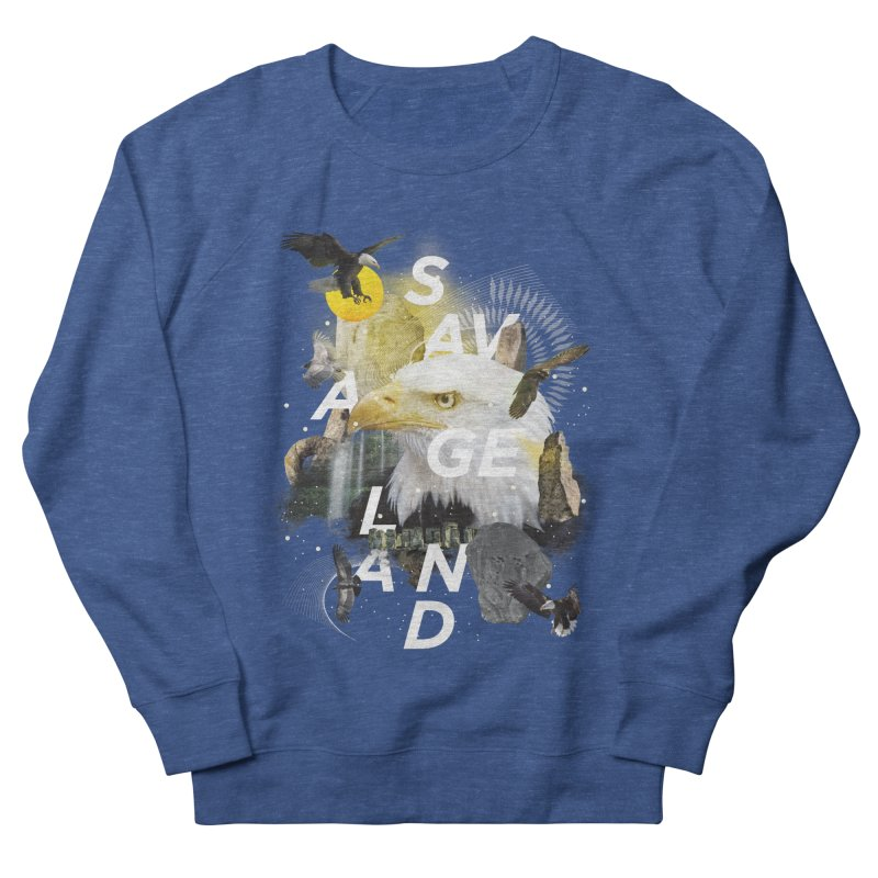 Savage Land Women's Sweatshirt by virbia's Artist Shop