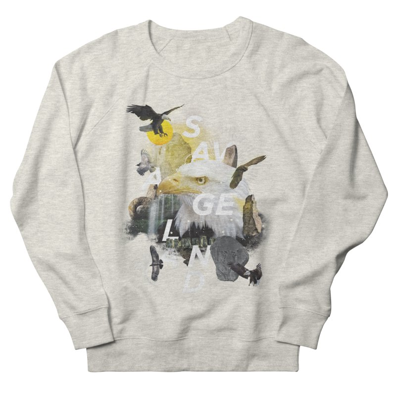 Savage Land Women's French Terry Sweatshirt by virbia's Artist Shop