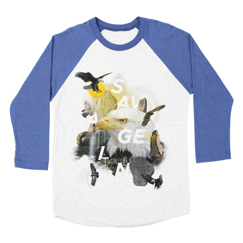 Savage Land Men's Baseball Triblend Longsleeve T-Shirt by virbia's Artist Shop