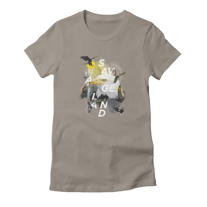 Savage Land Women's T-Shirt by virbia's Artist Shop