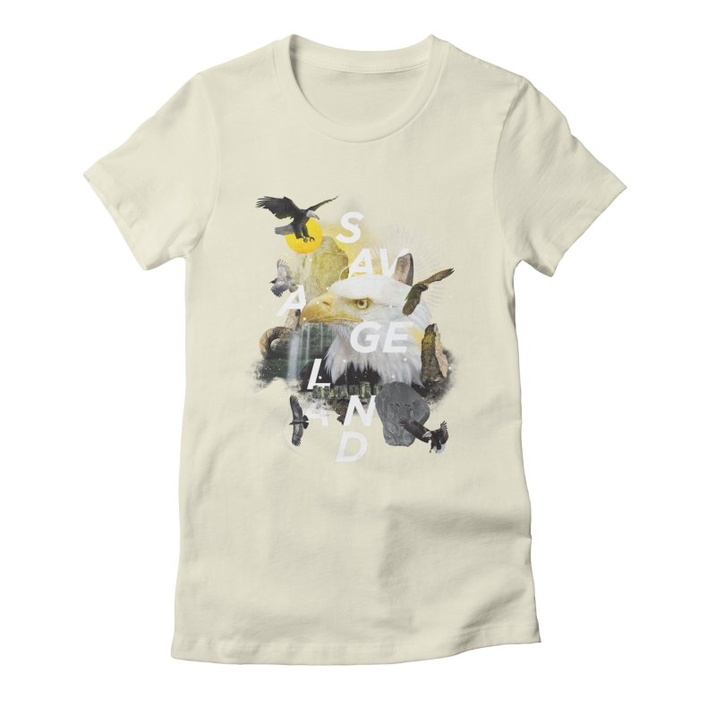 Savage Land Women's Fitted T-Shirt by virbia's Artist Shop