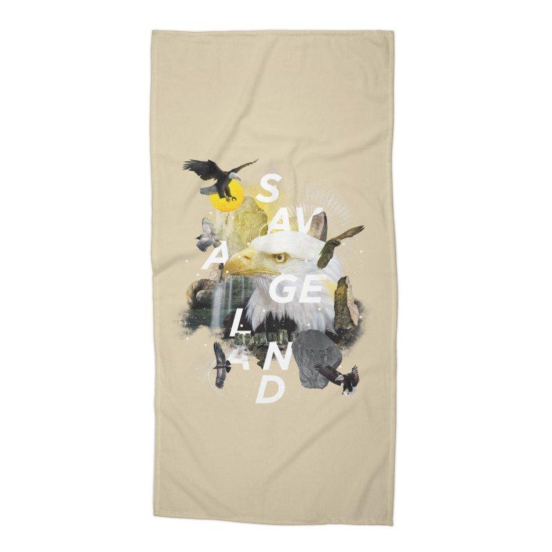 Savage Land Accessories Beach Towel by virbia's Artist Shop