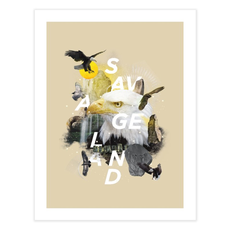 Savage Land Home Fine Art Print by virbia's Artist Shop