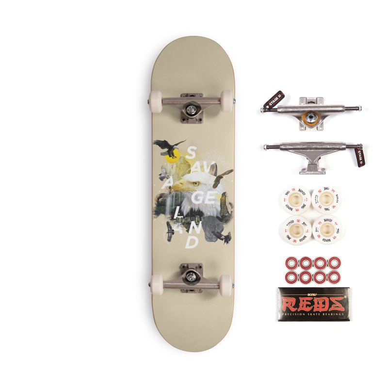 Savage Land Accessories Complete - Pro Skateboard by virbia's Artist Shop