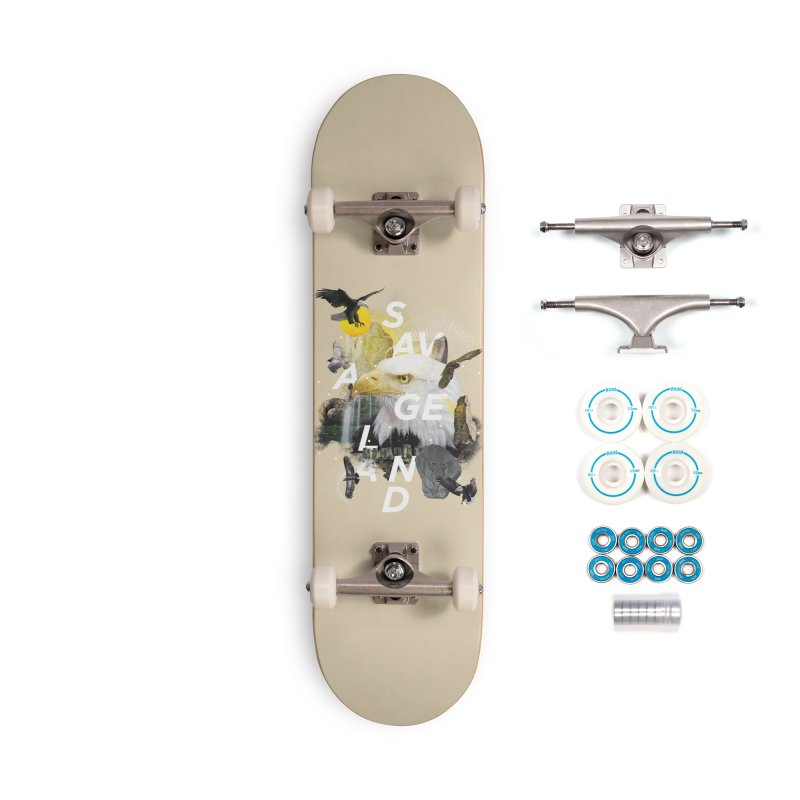 Savage Land Accessories Complete - Basic Skateboard by virbia's Artist Shop