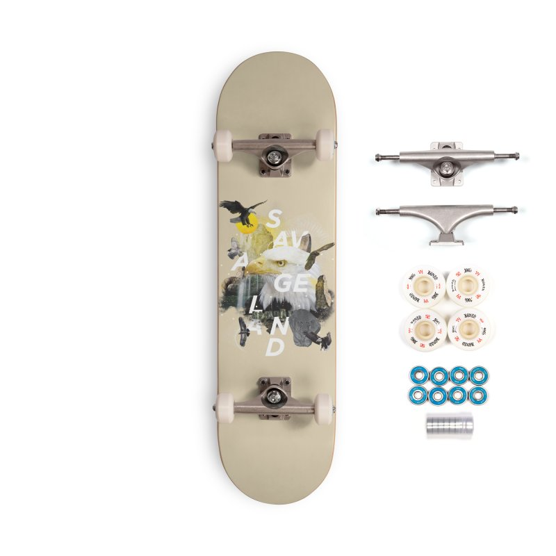 Savage Land Accessories Complete - Premium Skateboard by virbia's Artist Shop