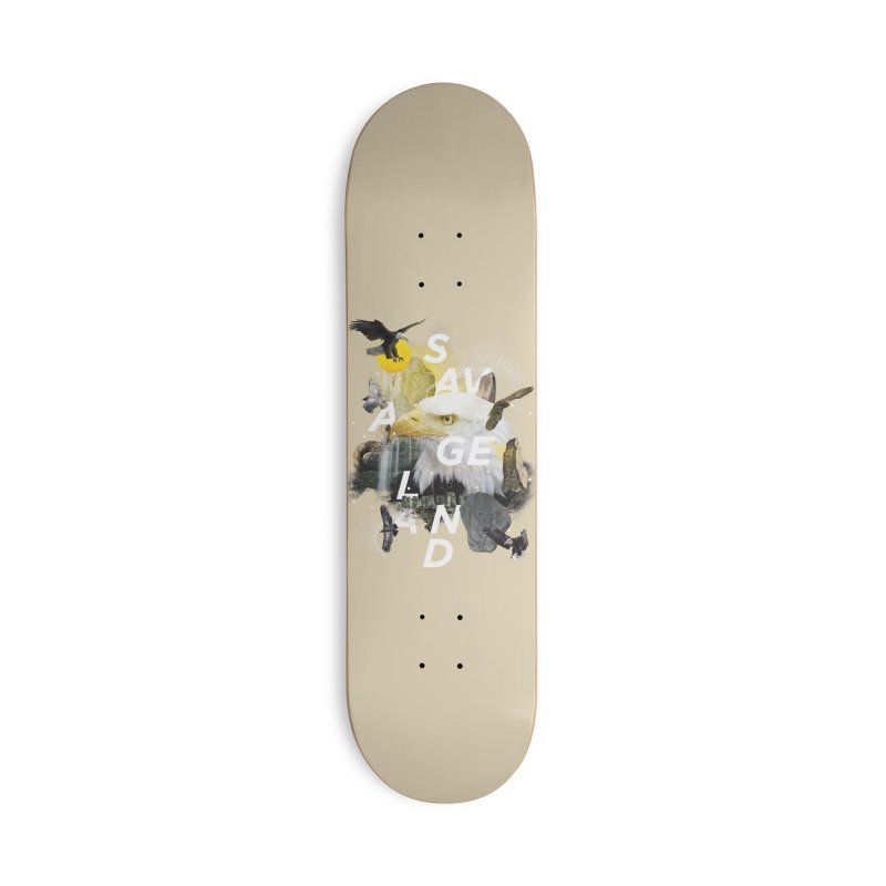 Savage Land Accessories Deck Only Skateboard by virbia's Artist Shop