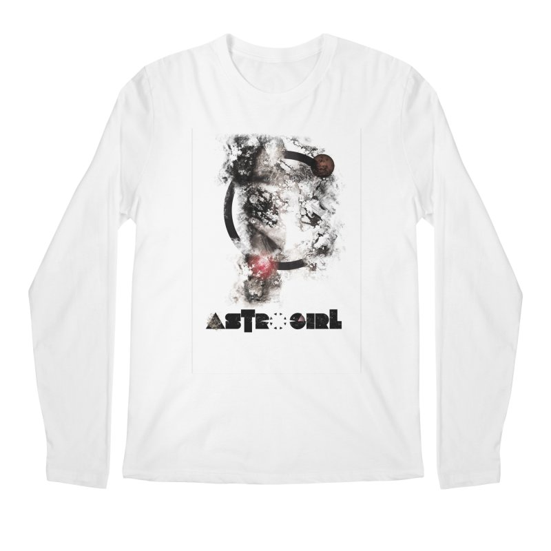 Astro Girl Men's Regular Longsleeve T-Shirt by virbia's Artist Shop