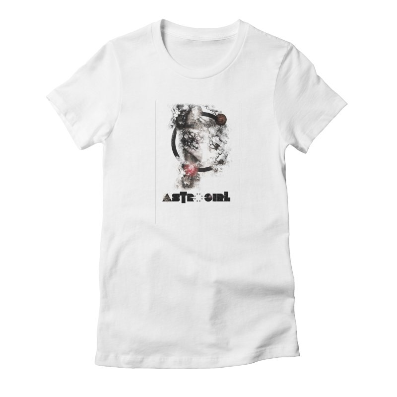 Astro Girl Women's T-Shirt by virbia's Artist Shop