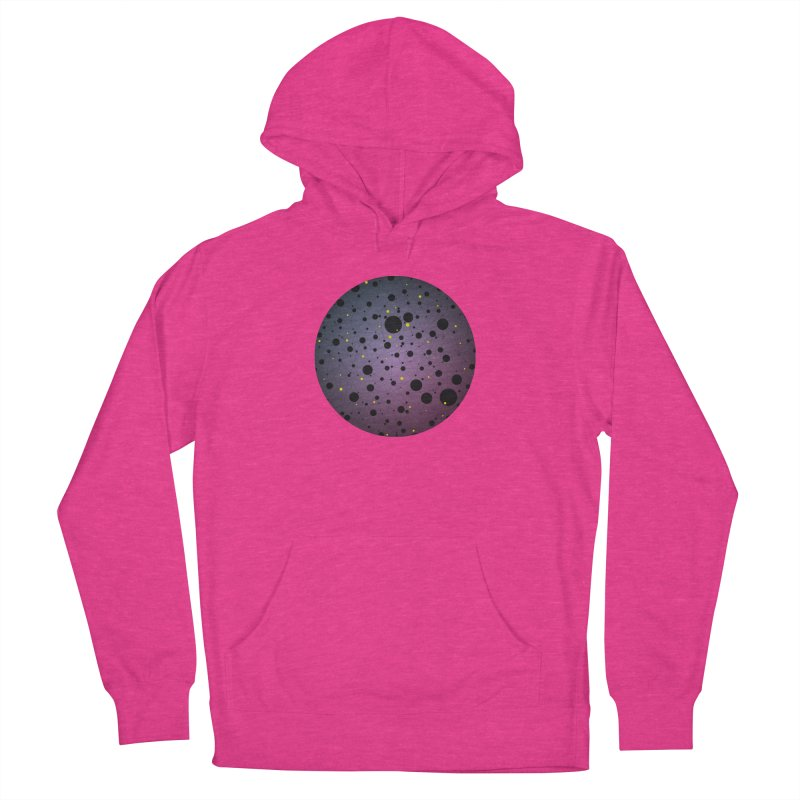 Atomic Circle Women's French Terry Pullover Hoody by virbia's Artist Shop
