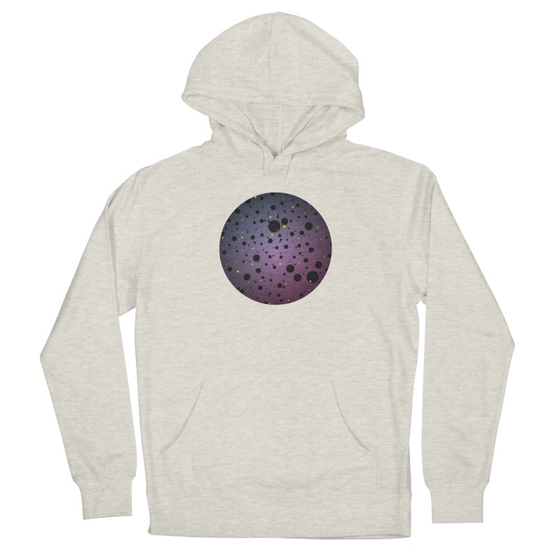 Atomic Circle Men's French Terry Pullover Hoody by virbia's Artist Shop