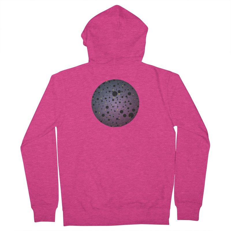 Atomic Circle Women's Zip-Up Hoody by virbia's Artist Shop