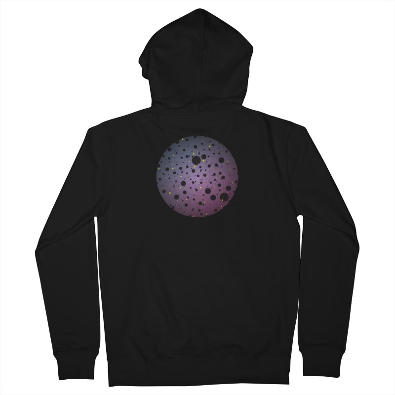 Atomic Circle Men's Zip-Up Hoody by virbia's Artist Shop
