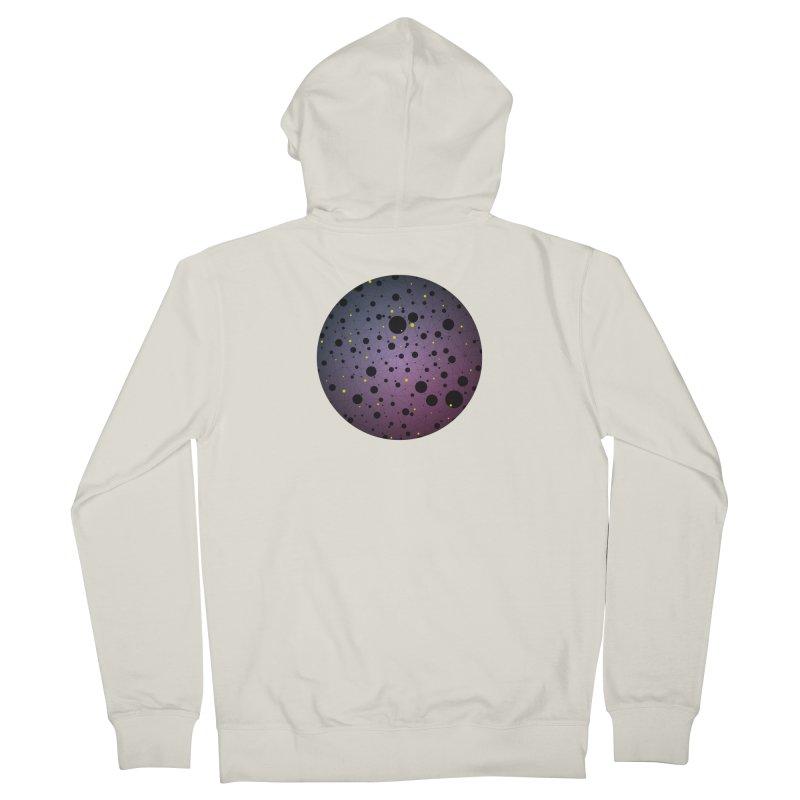 Atomic Circle Men's Zip-Up Hoody by virbia's Artist Shop