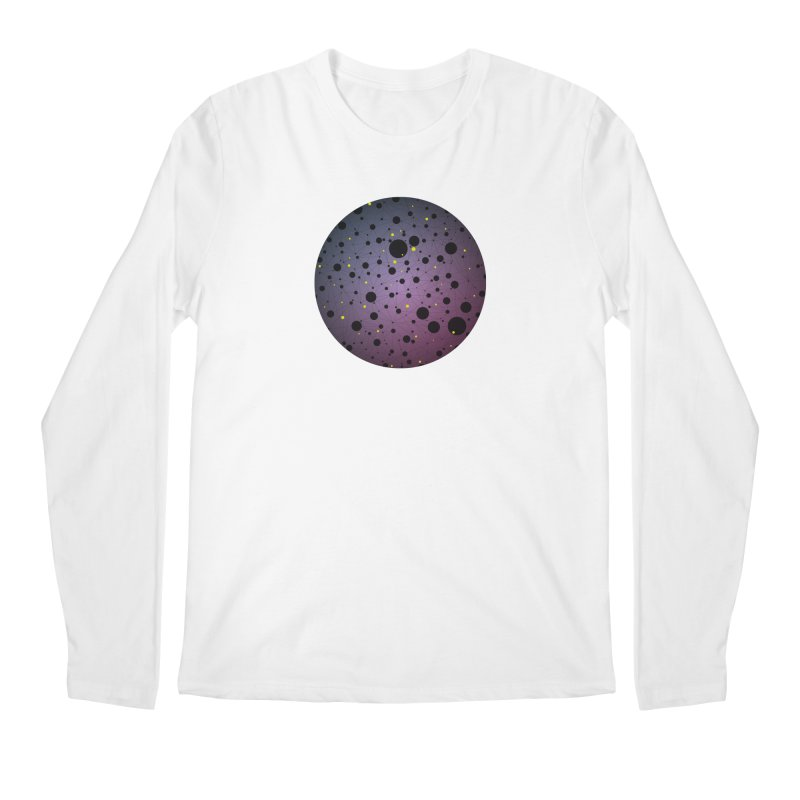 Atomic Circle Men's Regular Longsleeve T-Shirt by virbia's Artist Shop