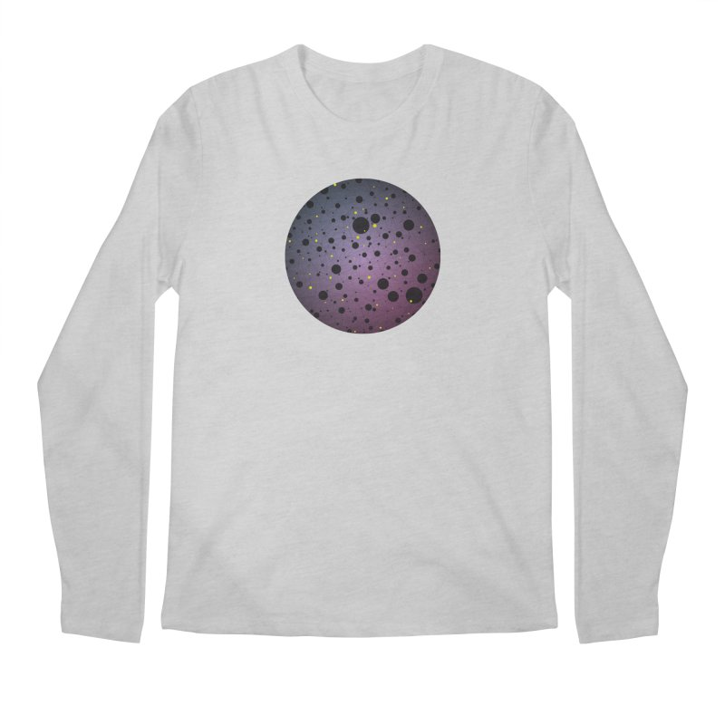 Atomic Circle Men's Regular Longsleeve T-Shirt by virbia's Artist Shop