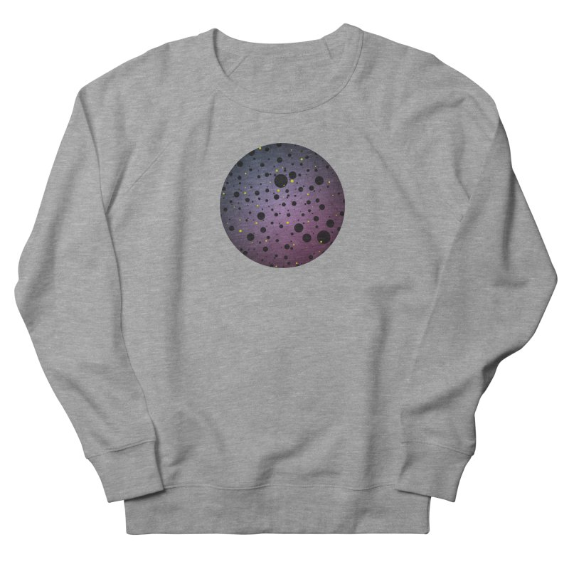 Atomic Circle Men's French Terry Sweatshirt by virbia's Artist Shop