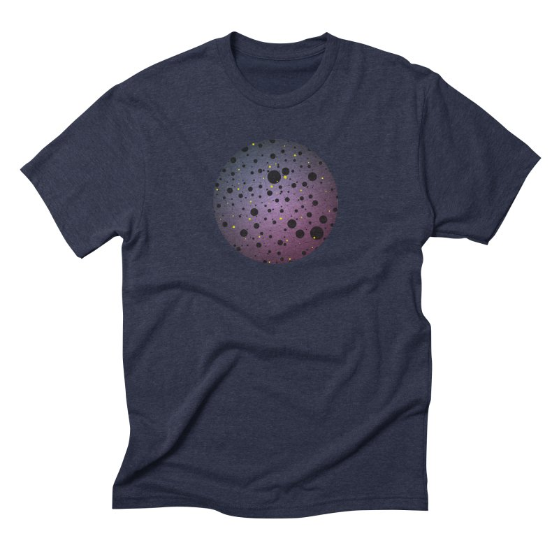 Atomic Circle Men's Triblend T-Shirt by virbia's Artist Shop