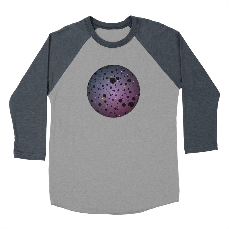 Atomic Circle Women's Baseball Triblend Longsleeve T-Shirt by virbia's Artist Shop