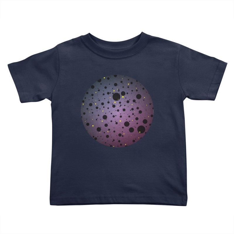 Atomic Circle Kids Toddler T-Shirt by virbia's Artist Shop