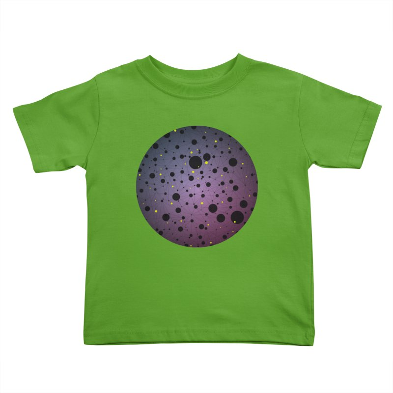 Atomic Circle Kids Toddler T-Shirt by virbia's Artist Shop