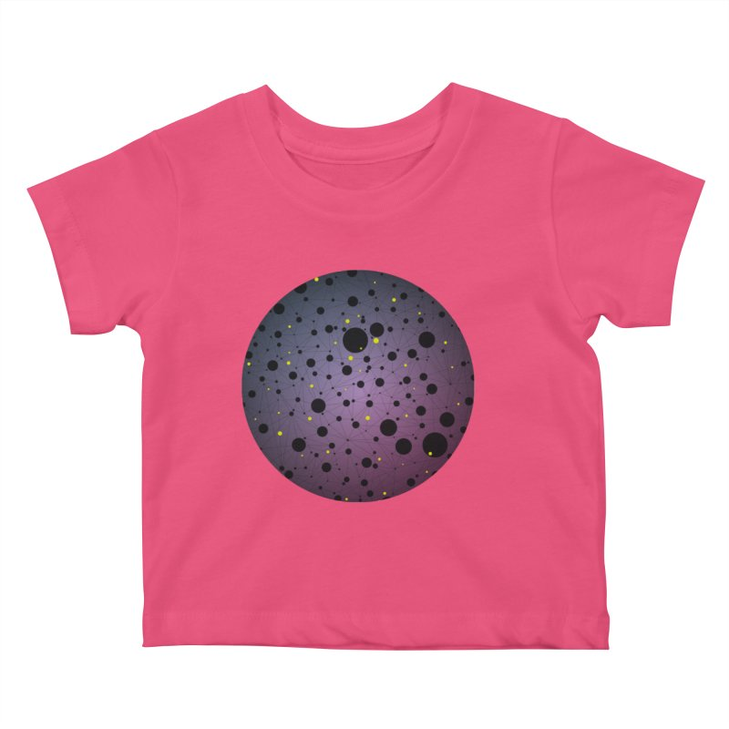 Atomic Circle Kids Baby T-Shirt by virbia's Artist Shop
