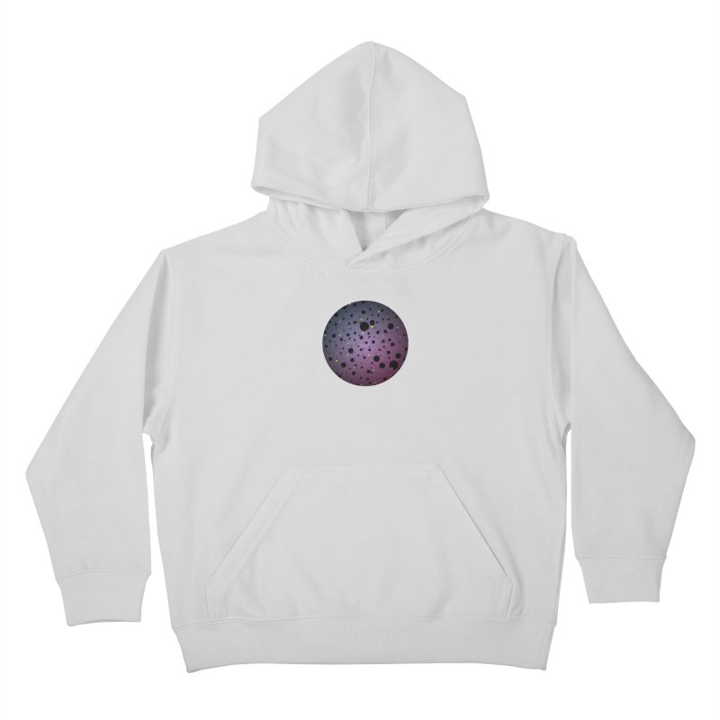 Atomic Circle Kids Pullover Hoody by virbia's Artist Shop