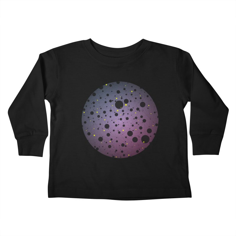 Atomic Circle Kids Toddler Longsleeve T-Shirt by virbia's Artist Shop