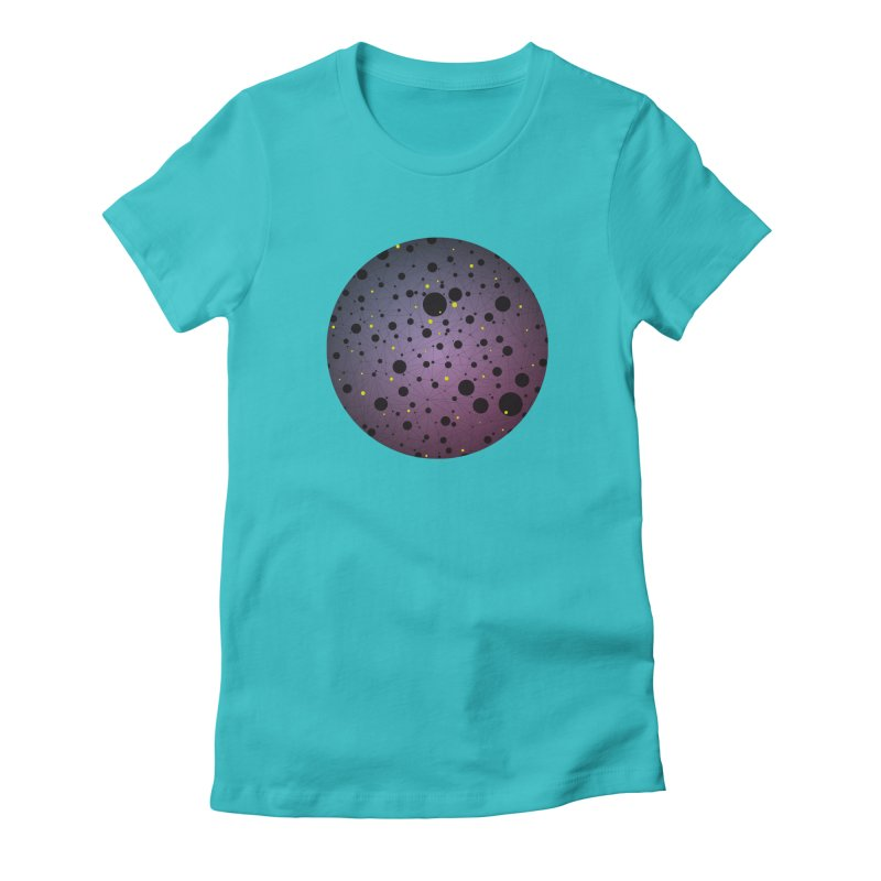 Atomic Circle Women's T-Shirt by virbia's Artist Shop