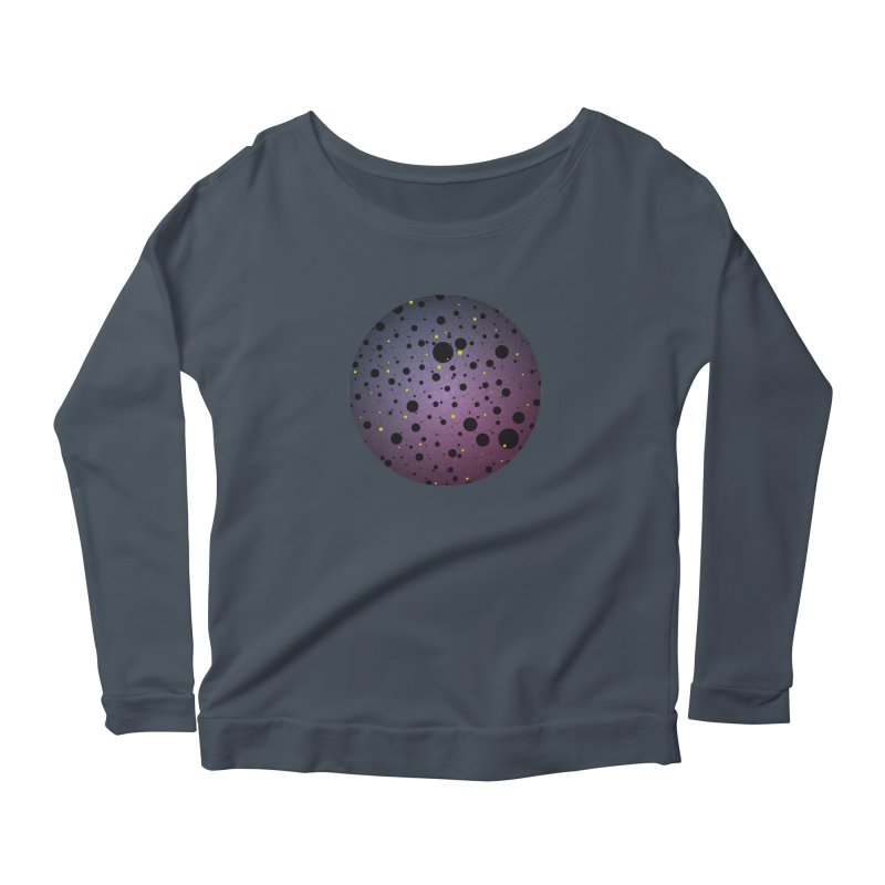 Atomic Circle Women's Longsleeve T-Shirt by virbia's Artist Shop