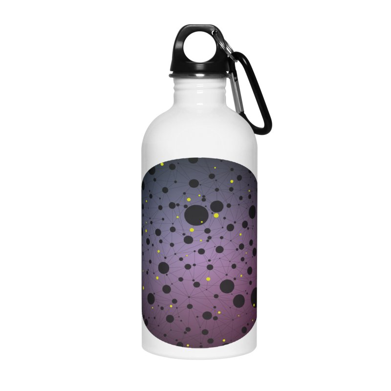 Atomic Circle Accessories Water Bottle by virbia's Artist Shop