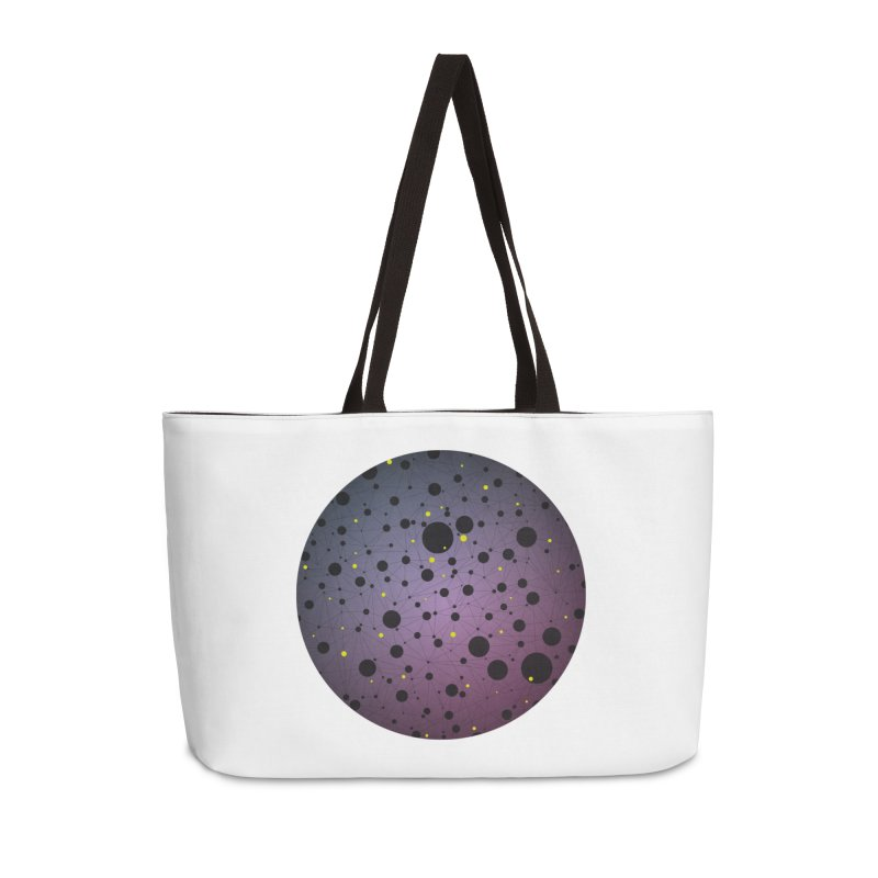Atomic Circle Accessories Bag by virbia's Artist Shop