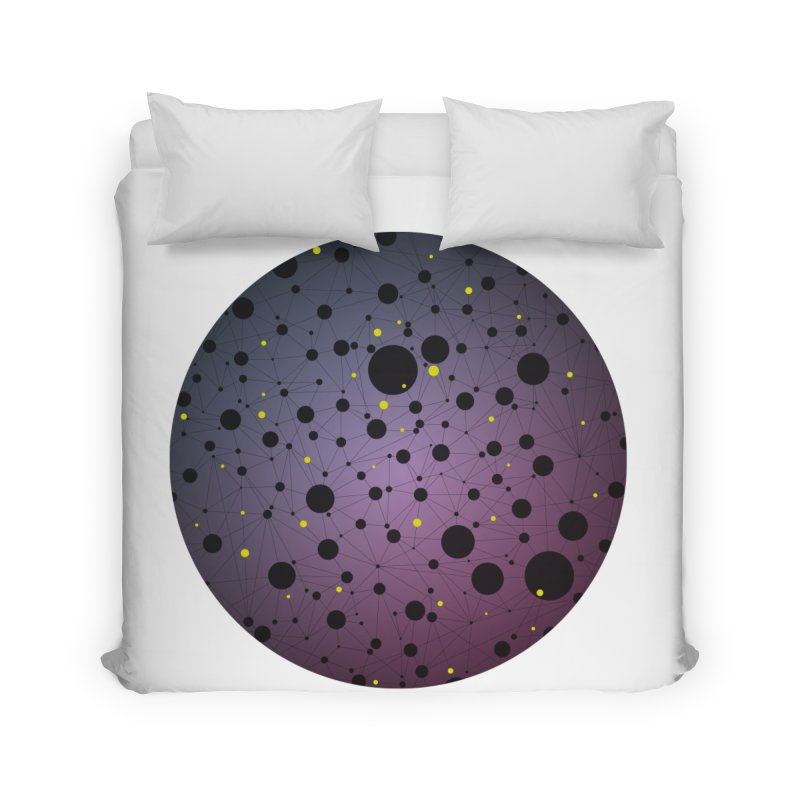 Atomic Circle Home Duvet by virbia's Artist Shop
