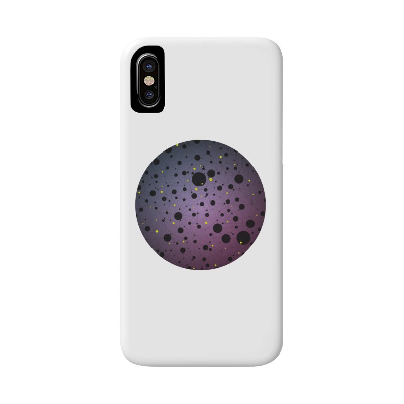 Atomic Circle Accessories Phone Case by virbia's Artist Shop
