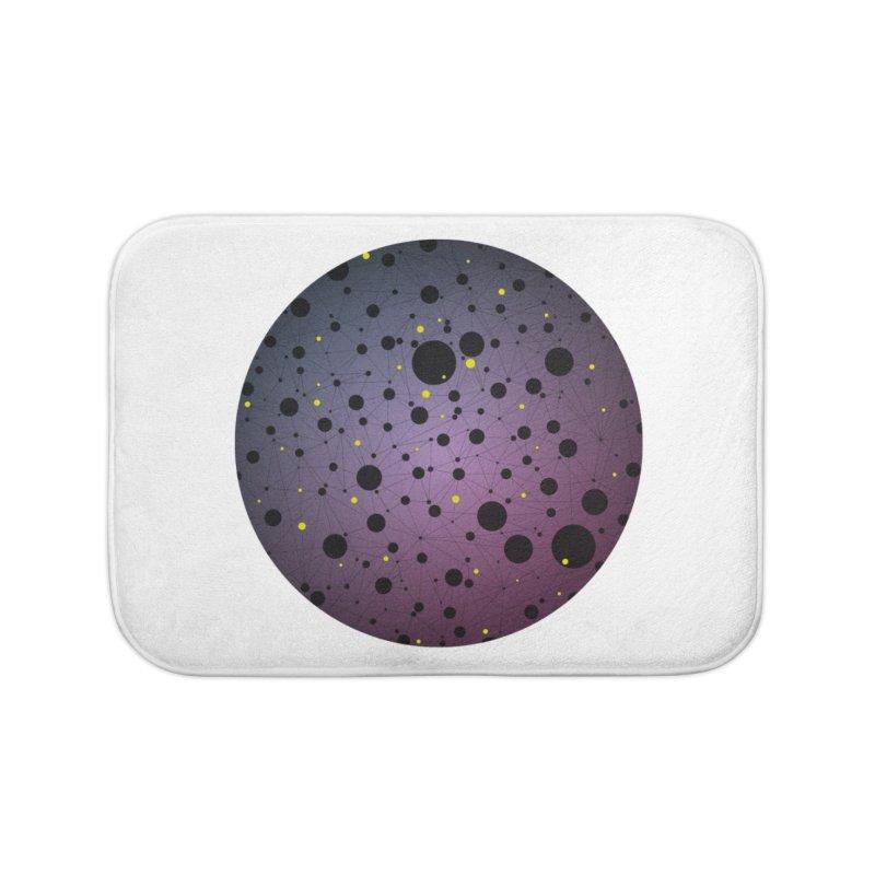 Atomic Circle Home Bath Mat by virbia's Artist Shop