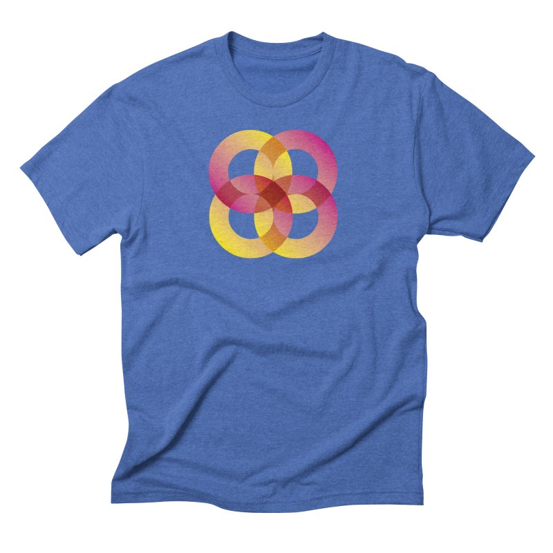 Power Rings Men's T-Shirt by virbia's Artist Shop