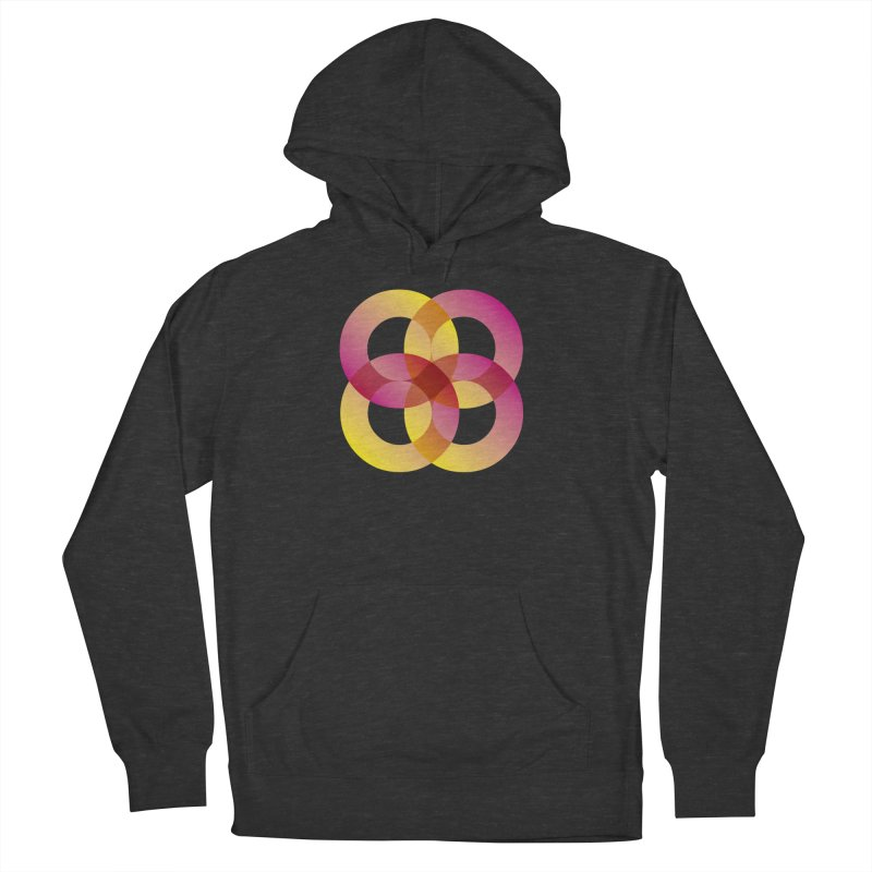 Power Rings Women's French Terry Pullover Hoody by virbia's Artist Shop