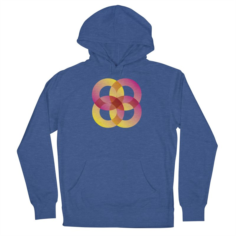 Power Rings Men's Pullover Hoody by virbia's Artist Shop