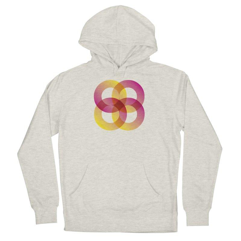 Power Rings Men's French Terry Pullover Hoody by virbia's Artist Shop