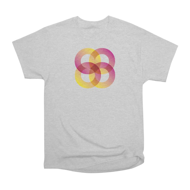 Power Rings Men's Heavyweight T-Shirt by virbia's Artist Shop
