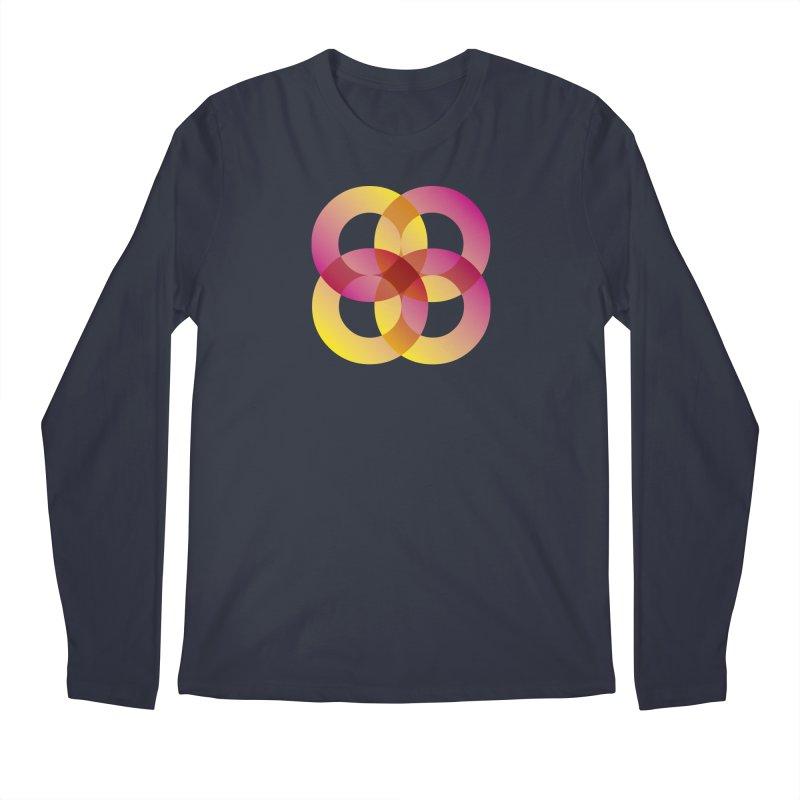 Power Rings Men's Regular Longsleeve T-Shirt by virbia's Artist Shop