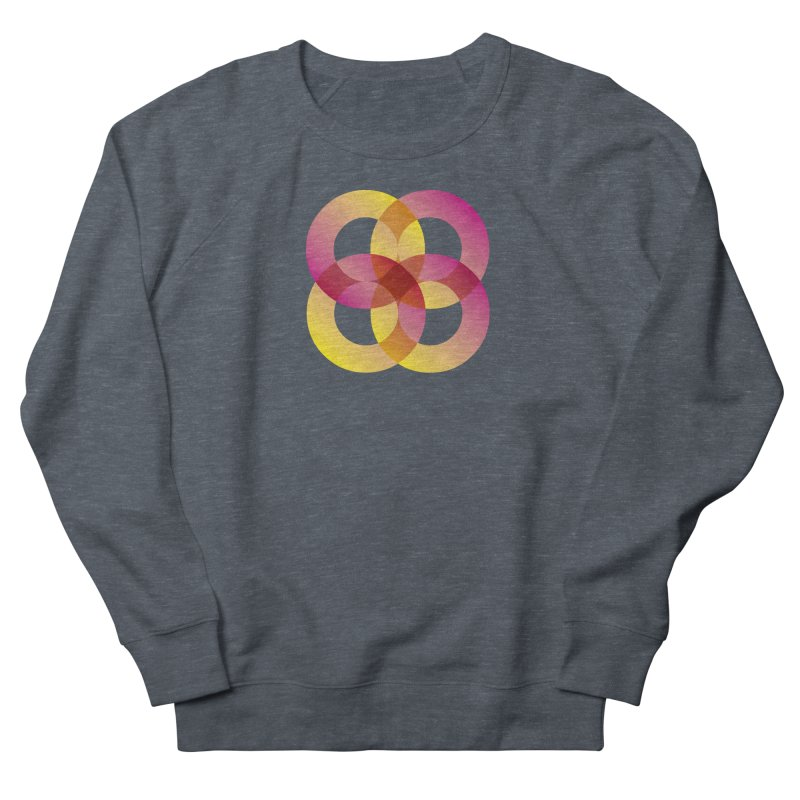 Power Rings Men's French Terry Sweatshirt by virbia's Artist Shop
