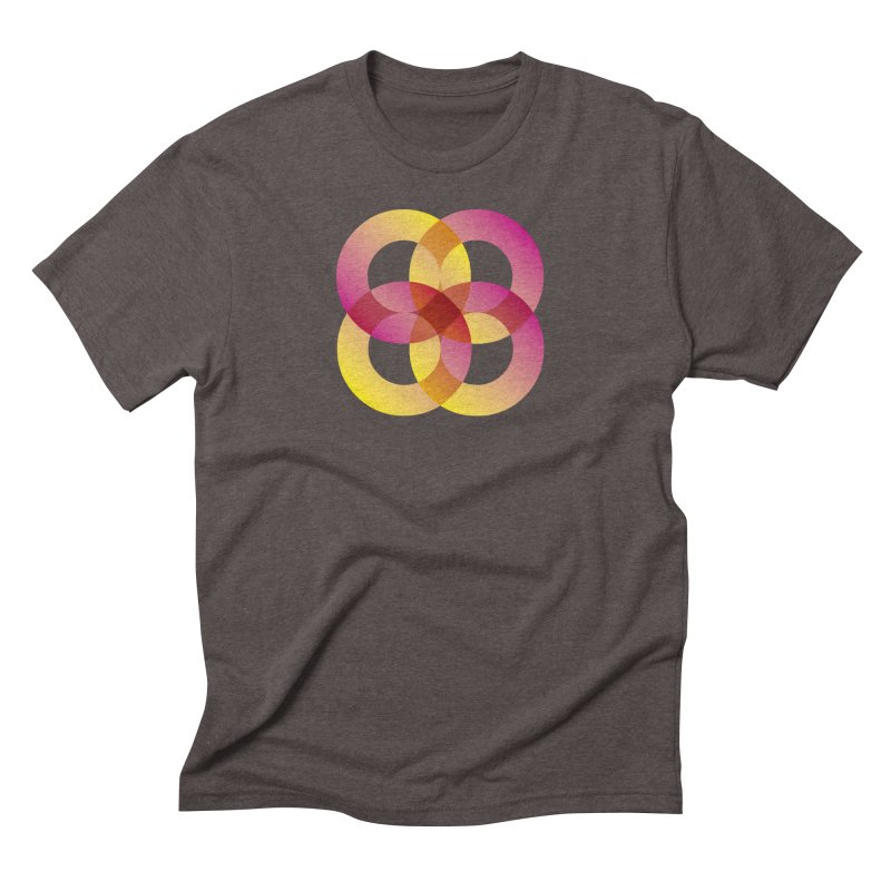 Power Rings Men's Triblend T-Shirt by virbia's Artist Shop