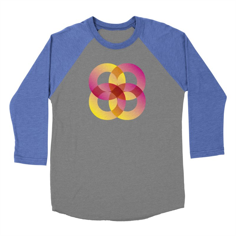Power Rings Men's Baseball Triblend Longsleeve T-Shirt by virbia's Artist Shop
