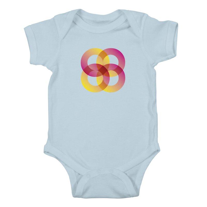 Power Rings Kids Baby Bodysuit by virbia's Artist Shop