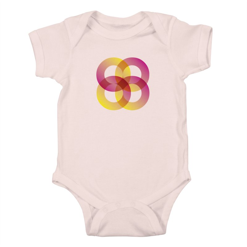 Power Rings Kids Baby Bodysuit by virbia's Artist Shop