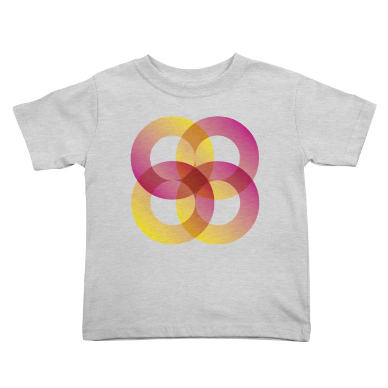Power Rings Kids Toddler T-Shirt by virbia's Artist Shop