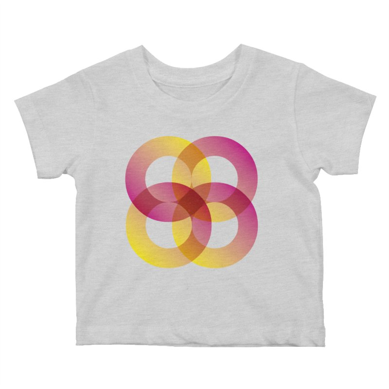Power Rings Kids Baby T-Shirt by virbia's Artist Shop